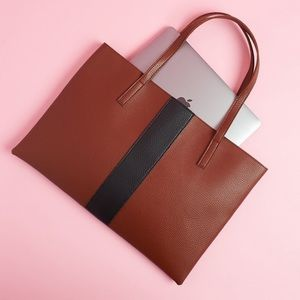 Vince Camuto Bags - Vince Camuto Vegan Leather Tote Bag
